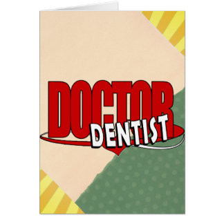 LOGO DOCTOR  DENTIST CARD