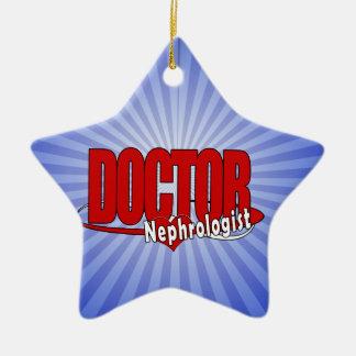 LOGO DOCTOR Nephrologist Ceramic Ornament