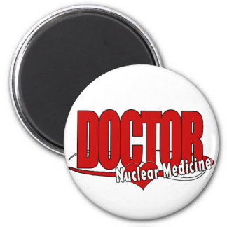 LOGO DOCTOR NUCLEAR MEDICINE FRIDGE MAGNET
