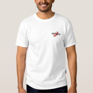 Logo embroidered tee (L)