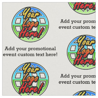 Logo / Event Fabric Printing, Printed by the Yard