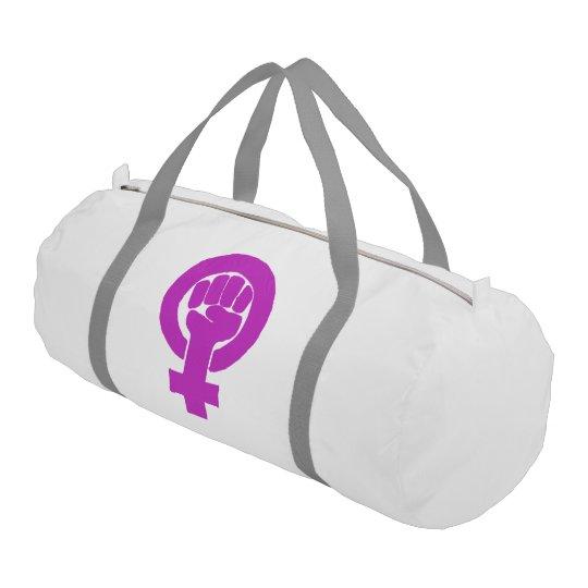 Logo, feminist / feminista, equality / igualidad: gym bag