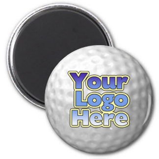 Logo Golf Ball Magnet