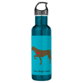 Logo Heart Water Bottle