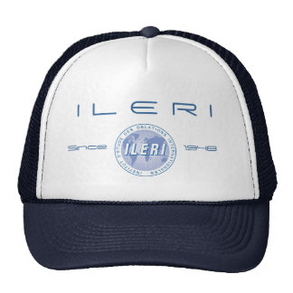 Logo ILERI REFLEX CAMERA BLUE, I L E R I, Since, 1 Cap