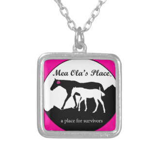 Logo in Pink and Black Pendants