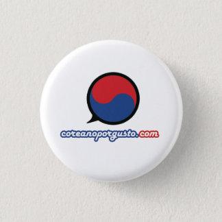 Logo Nuevo 3 Cm Round Badge