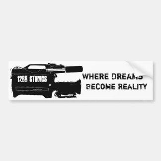 Logo Slogan Bumper Bumper Sticker