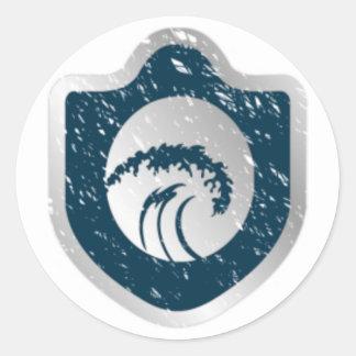 Logo Sticker Round Sticker