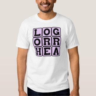 Logorrhea, Incoherent Talkativeness Shirts