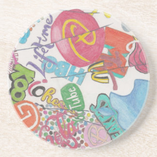Logos Coaster