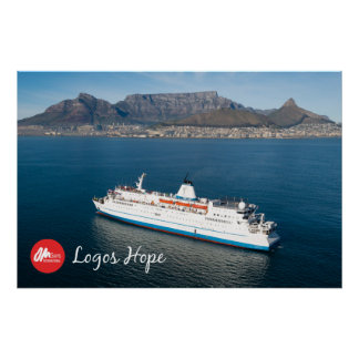 Logos Hope in Cape Town Print