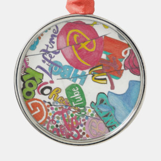 Logos Metal Ornament