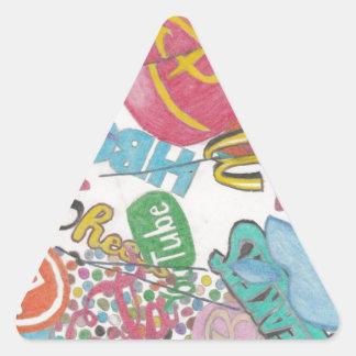 Logos Triangle Sticker