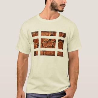 logs grid T-Shirt