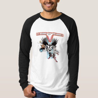 LOH Superhero Basic Long Sleeve Raglan T-Shirt