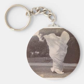 Loie Fuller Dancing Key Ring