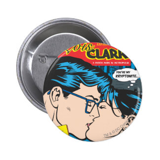 Lois and Clark Comic 6 Cm Round Badge
