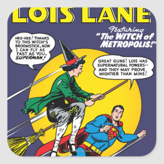 Lois Lane 1 Square Stickers