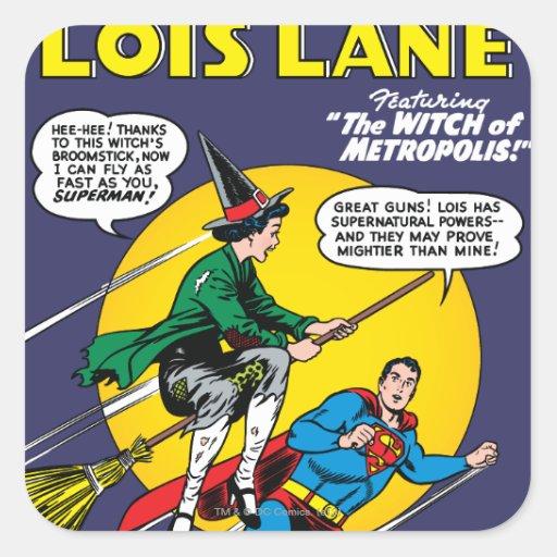 Lois Lane #1 Square Stickers