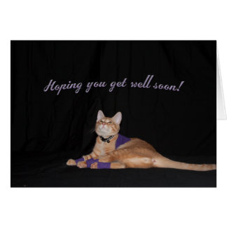 Loki s Get Well Wishes Greeting Card