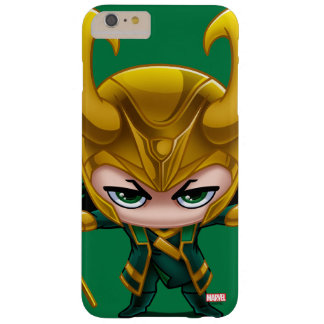 Loki Stylized Art Barely There iPhone 6 Plus Case