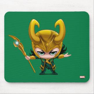 Loki Stylized Art Mouse Pad