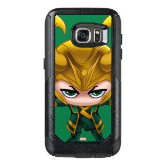 Loki Stylized Art OtterBox Samsung Galaxy S7 Case