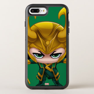 Loki Stylized Art OtterBox Symmetry iPhone 7 Plus Case