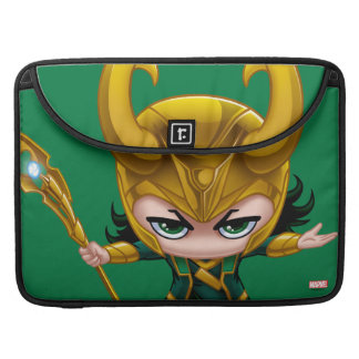 Loki Stylized Art Sleeves For MacBooks