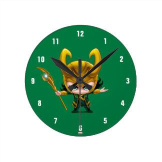 Loki Stylized Art Wall Clocks