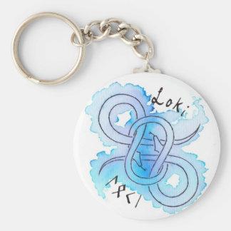 Loki Symbol Keychain