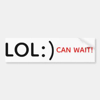 LOL :) Can Wait! sticker