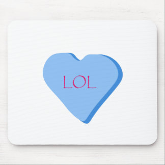 LOL Candy Heart Mouse Pad