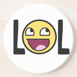 LOL cartoon, funn design Coaster
