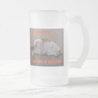 LOL CAT: ai calld jeny craig-but den ai eeted her Coffee Mugs