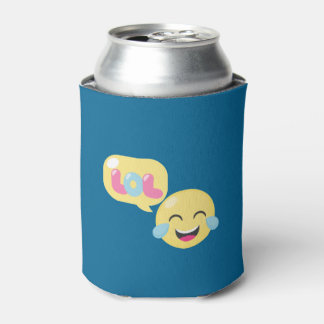 LOL Emoji Bubble Can Cooler