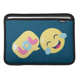 LOL emoji bubble Sleeve For MacBook Air