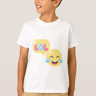 LOL Emoji Bubble T-Shirt