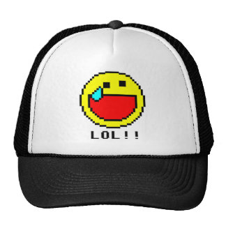 LOL!! Emoticon Hat