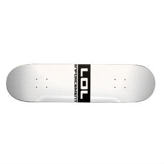 LOL Envorcement can has board? 18.1 Cm Old School Skateboard Deck