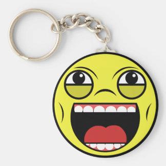 LOL Face Key Ring