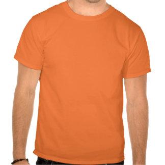 lol. fame (black on safety orange) t shirt