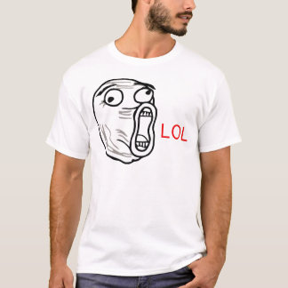LOL Guy (from 9gag reddit and rage comics) T-Shirt
