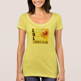 LOL Ladies Club T-Shirt with large logo