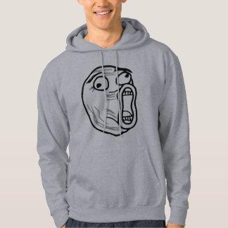 LOL Laugh Out Loud Rage Face Meme Hoodie