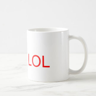 LOL - meme Basic White Mug