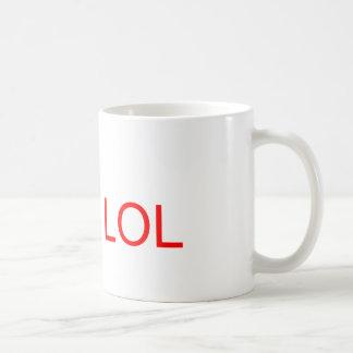LOL - meme Classic White Coffee Mug