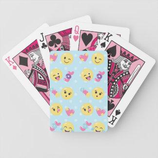 LOL OMG Emoji Pattern Bicycle Playing Cards