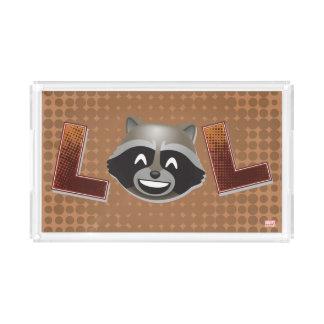 LOL Rocket Emoji Acrylic Tray